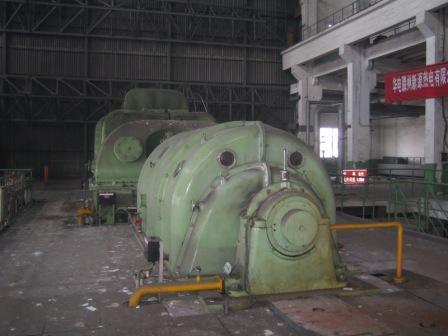 抽凝25000kw汽轮机发电机组