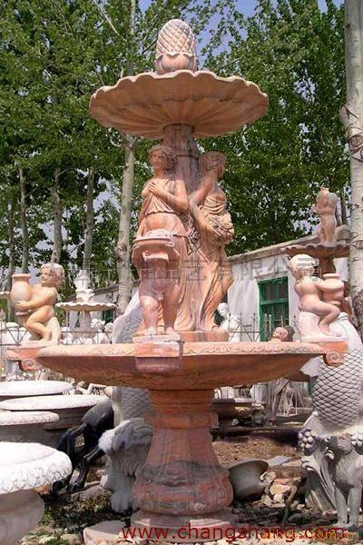 石雕花盆、汉白玉花盆、花岗岩花盆、大理石花盆、石材花盆