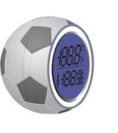 太阳能足球贴窗式温度计