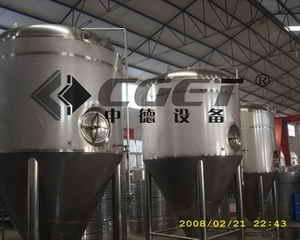啤酒设备--发酵罐 fermenter 7T