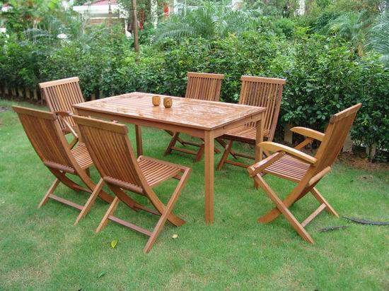 供应庭院套椅,实木家具,户外家具