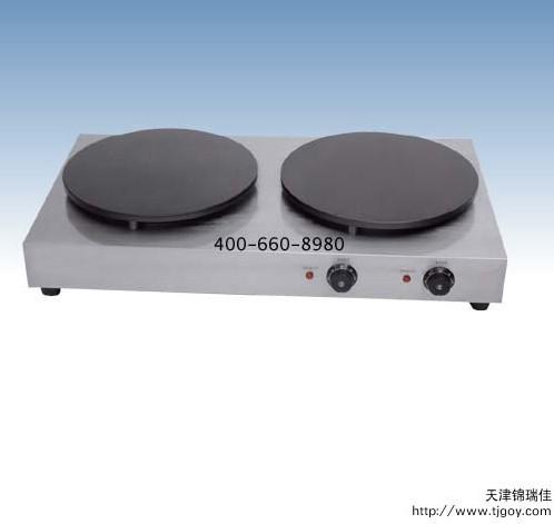 可丽饼机-电热可丽饼机|天津电热班戟炉|法国可丽饼机|单头可丽饼