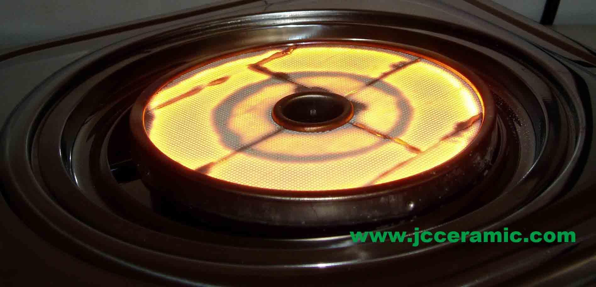 红外线蜂窝陶瓷燃烧板