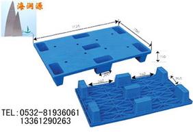 黑龙江烟草专用平板九脚塑料托盘