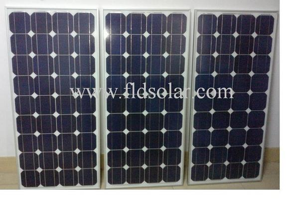 单晶硅大功率发电供电太阳能板