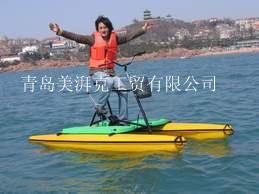 最新水上娱乐项目-美湃克单人水上自行车