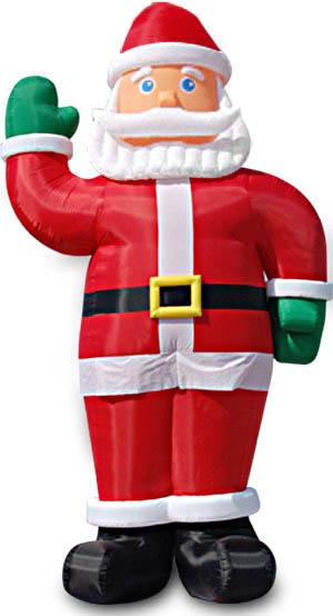 充气圣诞老人气模