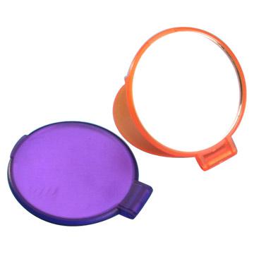 圆形单面镜