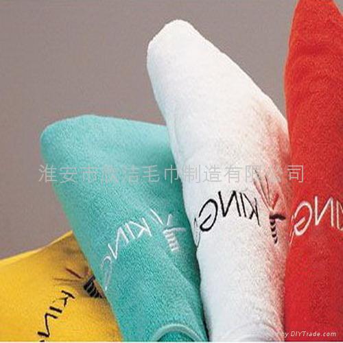 割绒活性印花沙滩巾浴巾毛巾