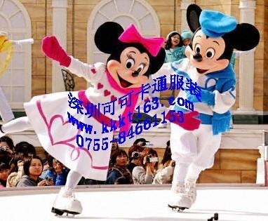 供应深圳可可卡通服装,卡通人偶,卡通表演服装