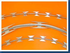 蛇腹型刀片刺网、直线型刀片刺网、平面式刀片刺网