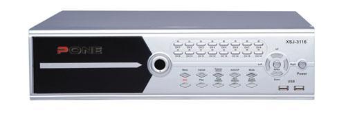 十六路全实时硬盘录像机    PA-K3016