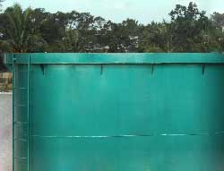 广西南宁绿泽环保重力式一体化净水器 河水净水器