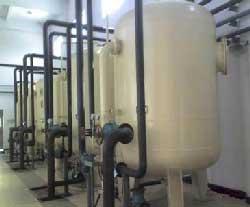广西南宁绿泽环保多介质过滤器 机械过滤器 混合介质过滤器