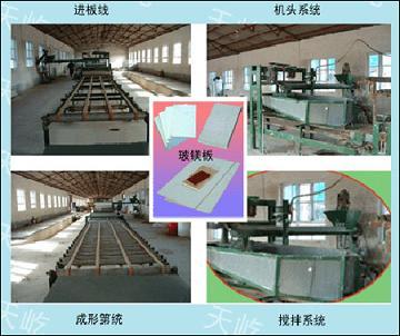 玻镁板生产设备