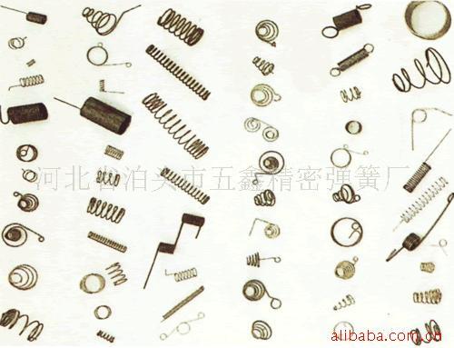 专业生产玩具弹簧,发夹弹簧,万能充弹簧