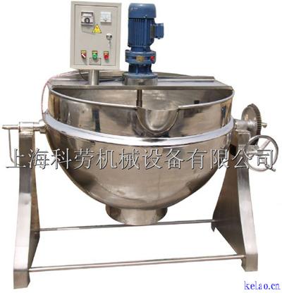 可倾式夹层锅(上海科劳机械)