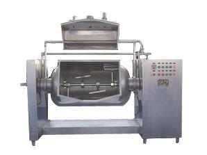 横轴卧式蒸汽搅拌夹层锅(上海科劳)