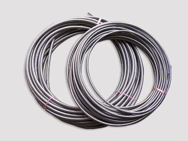 特氟龙不锈钢丝编织高压油管胶管水管蒸汽软管