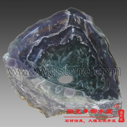 紫晶玉自然面洗手盆