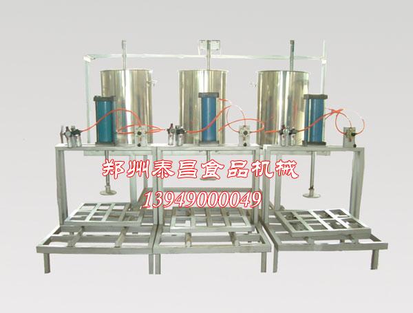 河南泰昌机械专业生产豆腐机/凉皮机/小型豆制品生产线