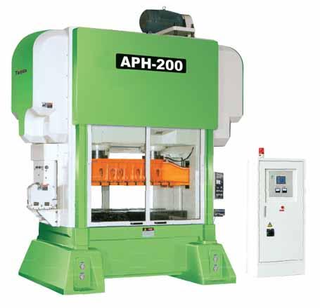 APH系列龙门式高速精密四导柱冲床