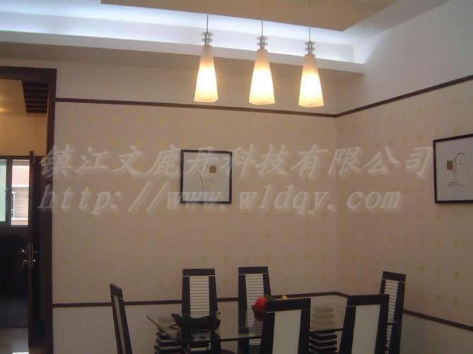 让墙面充满活力丰富多彩的文鹿丹墙艺漆