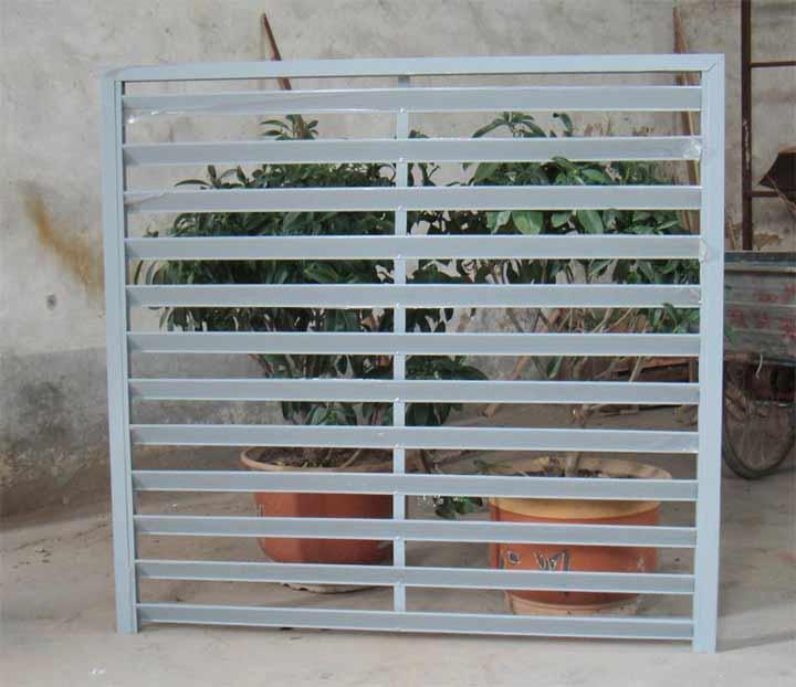 彩铝阳台百叶、百叶、彩铝窗台百叶