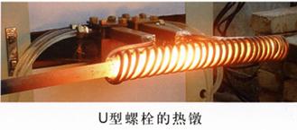 高强度螺栓螺母透热锻造中频炉供应商郑州国韵