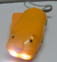 环保礼品虎形手压手电筒