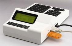 带小票打印数码管台式消费机