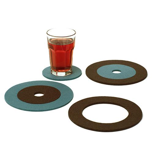 毛毡杯垫,毛毡餐垫,隔热垫