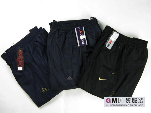 阿迪男款冬季运动裤