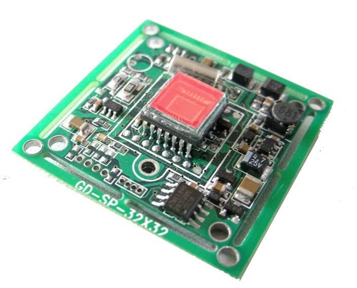 供应可视对讲彩色CCD单板摄像机