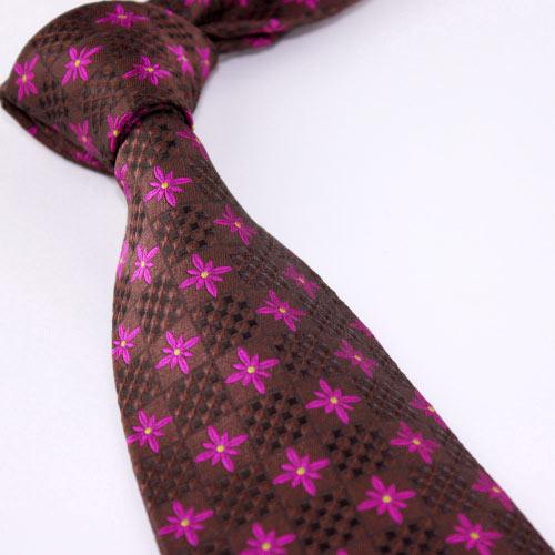 真丝色织领带,提花领带