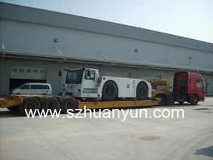 盐田蛇口赤湾大产湾港码头超高超宽大件货物大型机器设备拖车运输