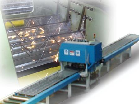 自承式钢筋桁架模板生产线