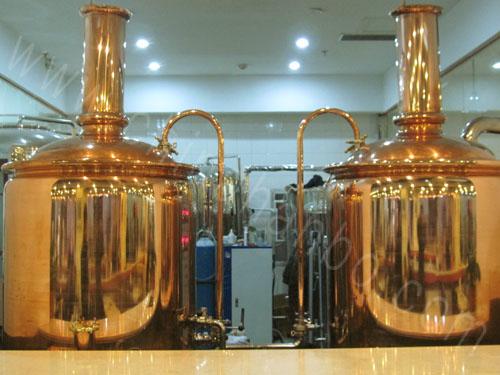 汉博酒店自酿啤酒设备