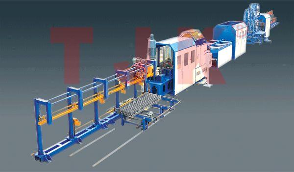 钢筋桁架模版焊接生产线