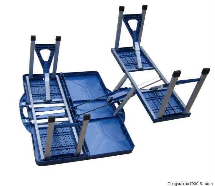 广州折叠咨询台、广州塑料桌椅、ABS塑料桌椅、工具箱桌子、保险业