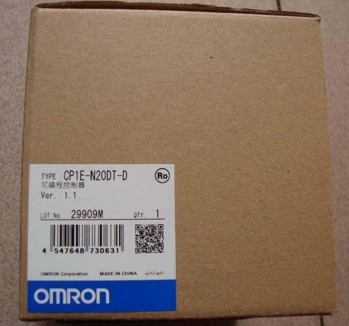 omron新款PLC CP1E-N20DR-D