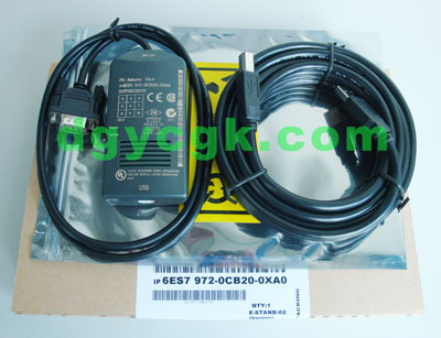 6ES7972-OCB20-OXAO西门子PLC编程电缆