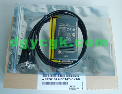 6ES7972-OCA23-OXAO西门子PLC编程电缆