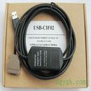 欧姆龙PLC编程电缆USB-CIF02