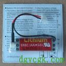 三菱F1/F2/FX2 PLC用锂电池(MAXELL ER6C)