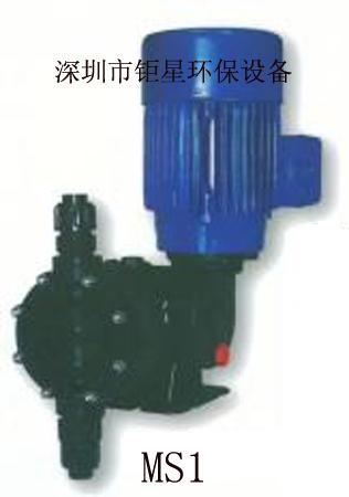 机械隔膜计量泵赛高MS1系列加药泵