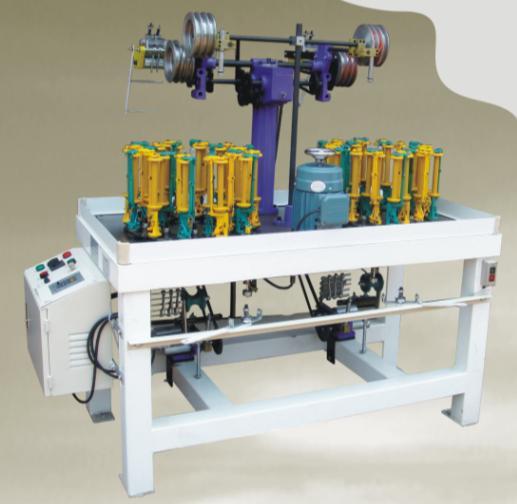 汽车坐垫绳机,座垫绳机,20锭编织机,24锭绳带机,圆绳机,绕线机,打轴机