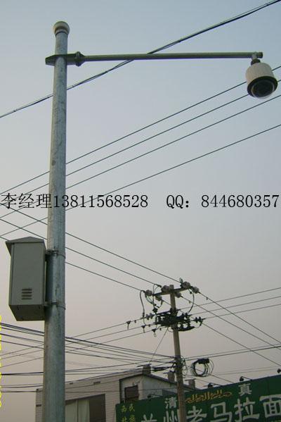 监控立杆八角监控立杆道路监控立杆设计加工