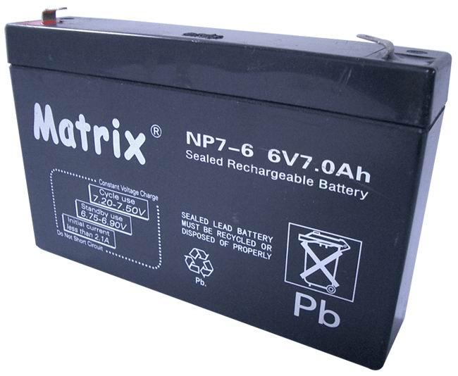 电动童车蓄电池6V7AH等