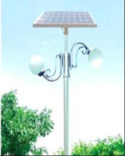 不锈钢双灯头太阳能亭院灯